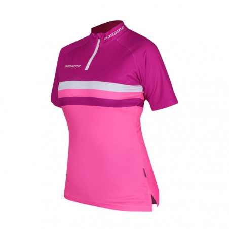 Combat Race Shirt Wo's, Dark pink/Pink