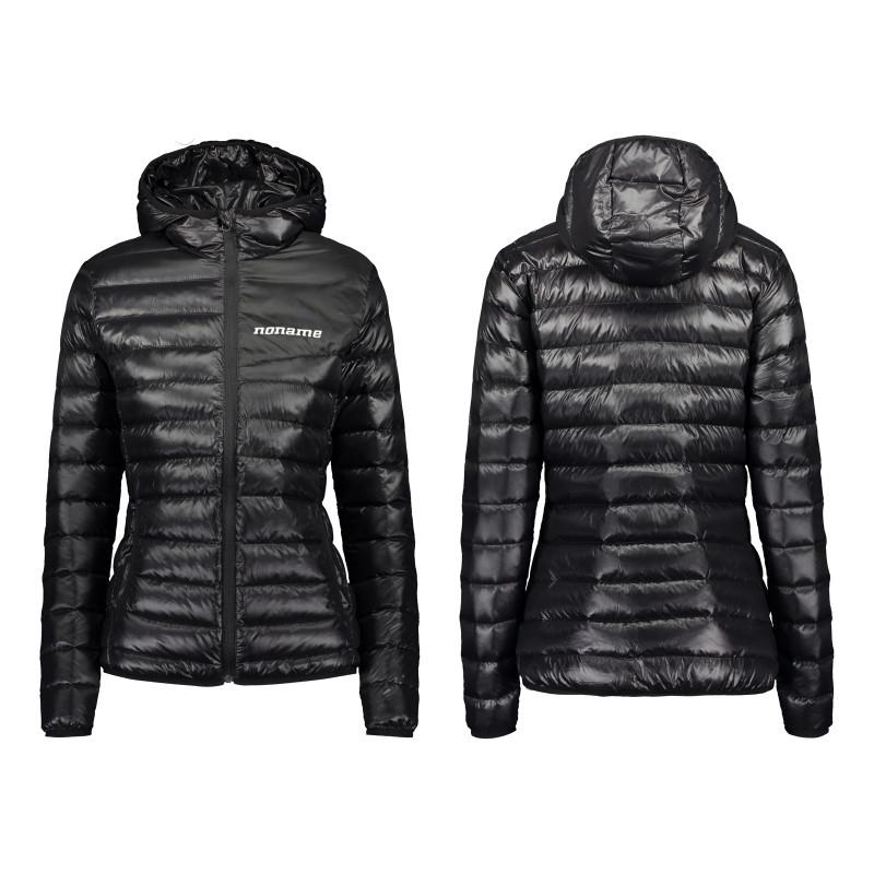 Light puffy down jacket wo's, black