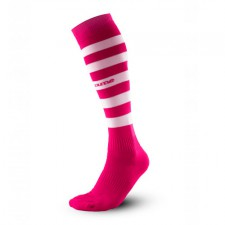 o-socks stripes pink-white