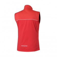Soft shell vest Flow in motion 18, red