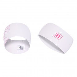 WS RACE HEADBAND 21 WHITE/PINK