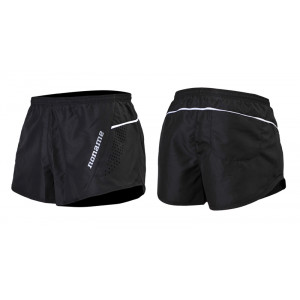 PRO RUNNING SHORTS BLACK/WHITE