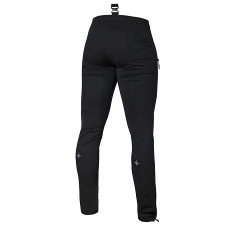 Soft shell pants Flow in motion, black