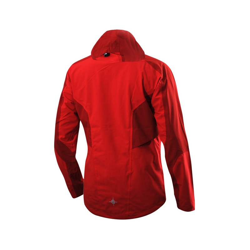 Camp Jacket Unisex, Red/Dark red