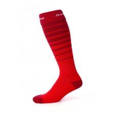 Suunnistussukat, punainen/tummanpunainen