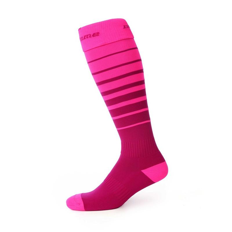 Orienteering socks, dark rose/rose