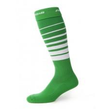 Orienteringsstrumpor, grön/vit