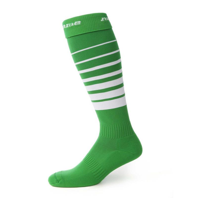 Suunnistussukat, vihreä/valkoinen