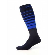 Orienteringsstrumpor, mörkblå/blå